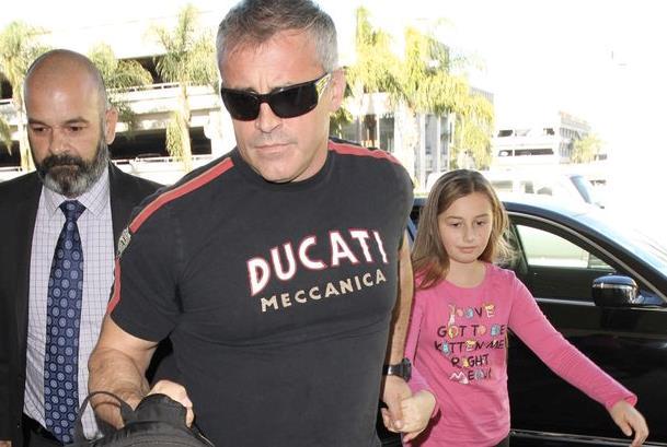 La figlia di Matt LeBlanc con il padre
