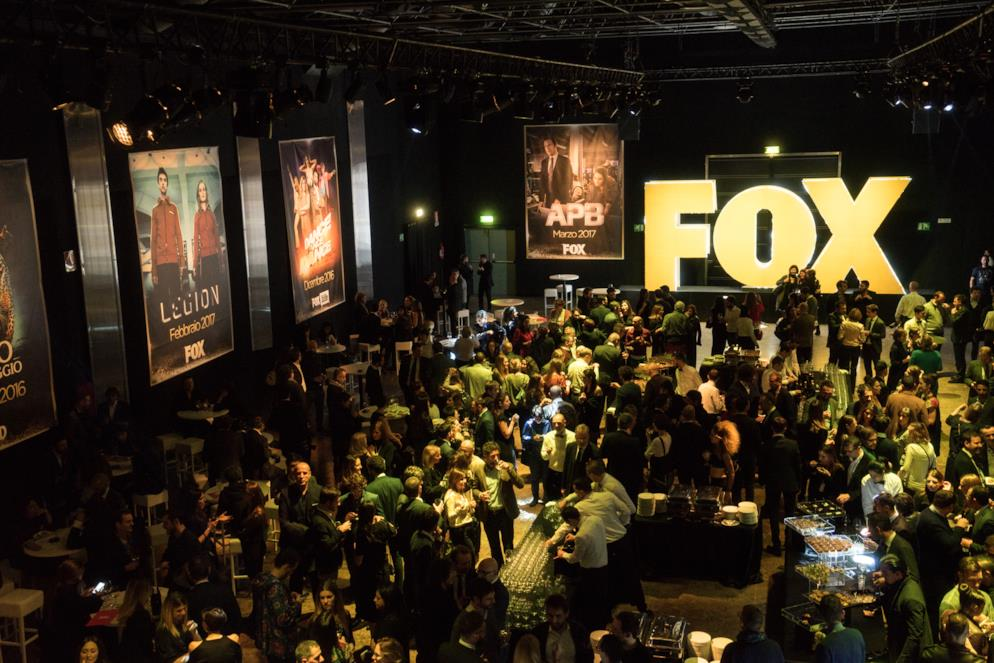 La location dei Fox Screenings che si sono tenuti a Milano