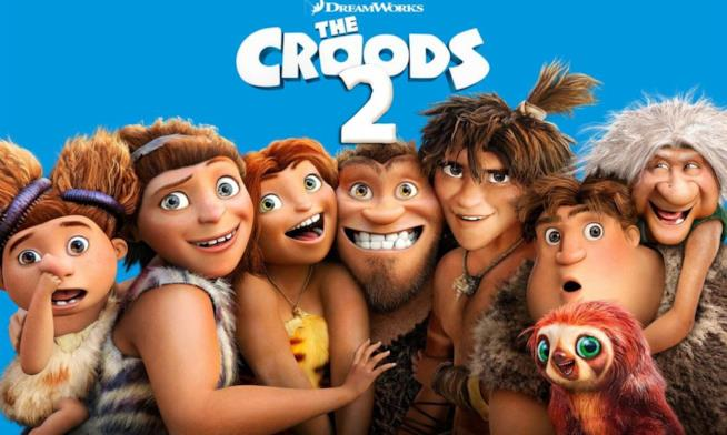 I Croods 2, poster ufficiale