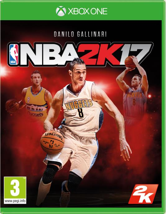 NBA2K17: Danilo Gallinari sarà l'atleta di copertina