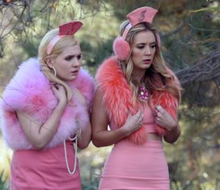 Chanel #5 e Chanel #3 nell'ultimo episodio di Scream Queens