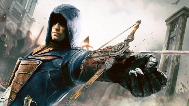 L'eroe di Assassin's Creed Unity in azione
