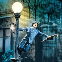Scena dal film Singing in the rain con Gene Kelly