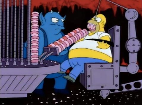 L'ossessione di Homer Simpson per le ciambelle