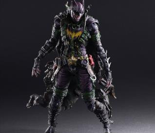 L'action figure di Batman versione Joker