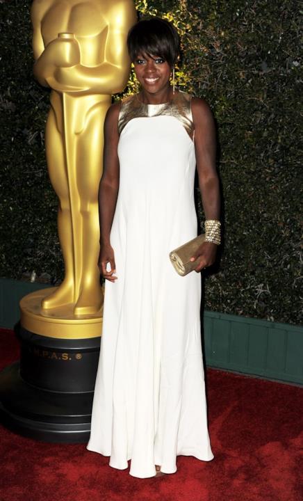 Viola Davis alla cerimonia degli Oscar alla Carriera