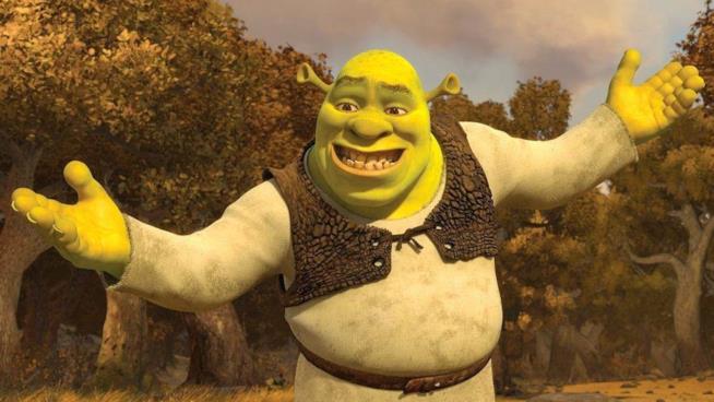 Un'immagine del film Shrek