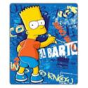 Coperta in pile Simpson