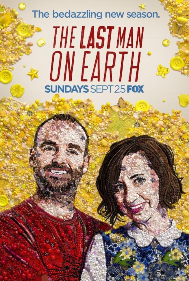 Tandy e Carol nel poster di The Last Man on Earth 3