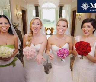 Le pazze 4 spose dell'ultimo episodio di Quattro Matrimoni 3