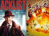 Due immagini della graphic novel di The Blacklist