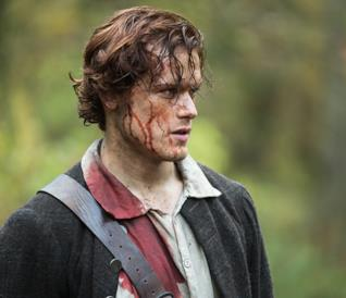 Sam Heughan, interprete di Jamie Fraser in Outlander