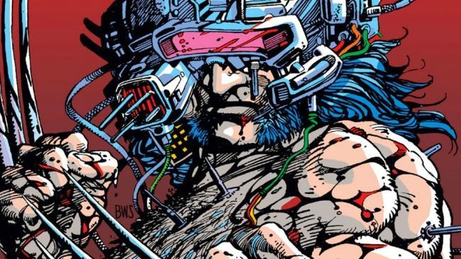 Wolverine disegnato da Barry Windsor-Smith