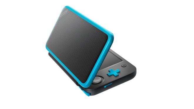 La forma a conchiglia di New Nintendo 2DS XL