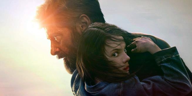 Hugh Jackman in una scena di Logan nel ruolo di Wolverine