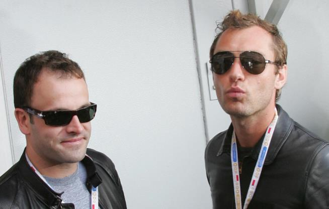 Jonny Lee Miller e Jude Law vanno molto d'accordo