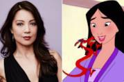 Un collage tra Mulan e Ming-Na Wen
