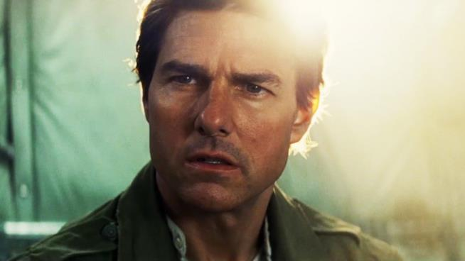 Tom Cruise in una scena del film La Mummia