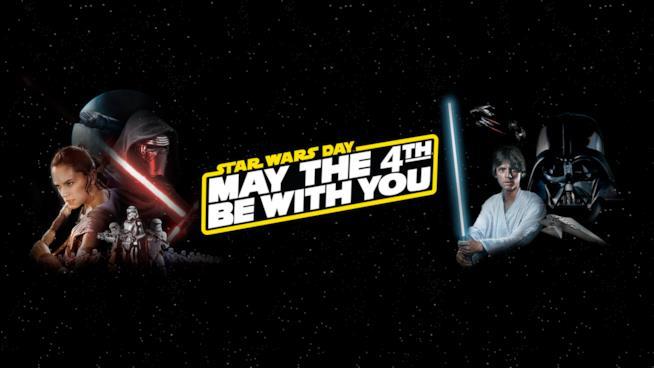 Gli eroi della vecchia e della nuova trilogia campeggiano sulla locandina dello Star Wars Day