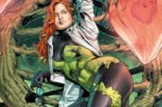 Una splendida illustrazione ufficiale di Poison Ivy