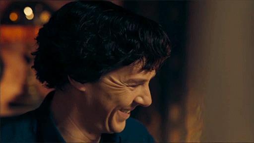 Un sorridente Benedict Cumberbatch