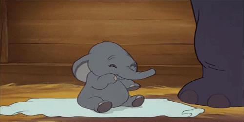Una scena da Dumbo