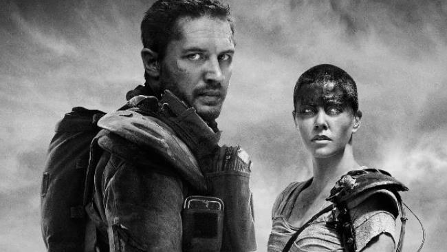 I due protagonisti di Mad Max: Fury Road