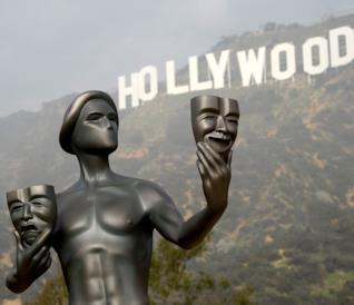 Una foto della scritta di Hollywood