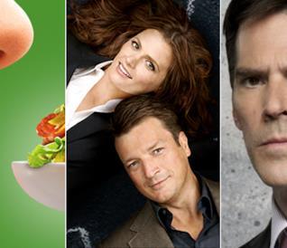 The Taste 3, Castle 8 (finale di serie), Criminal Minds 4 (replica finale)