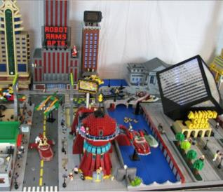 Il fan set Lego Futurama