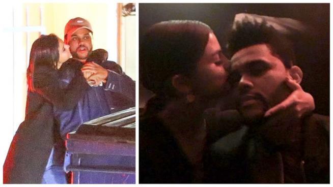 Alcune foto di Selena Gomez e The Weeknd