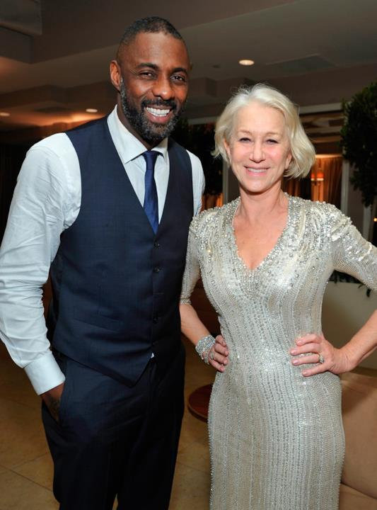 Idirs Elba e Helen Mirren ai SAG Awards 2016