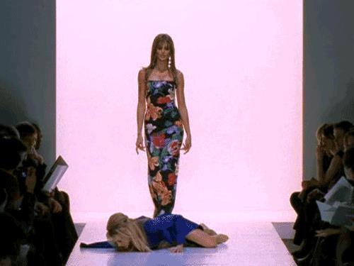 Heidi Klum sfila in un episodio Sex and the City