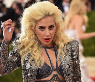 Lady Gaga a un evento di gala