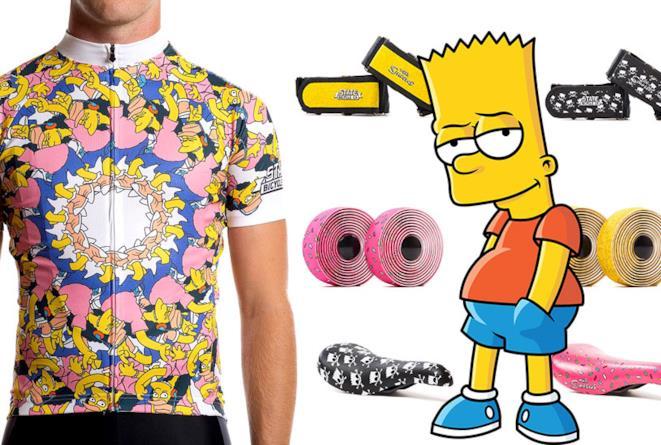 La linea di bici e abbigliamento per ciclismo dei Simpson è spettacolare!