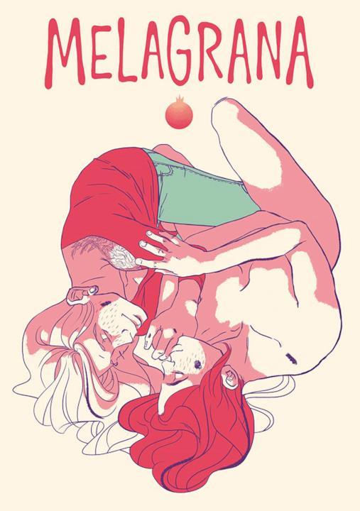 Flavia Biondi e l'illustrazione per Melagrana