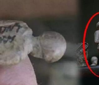 La statuetta trovata da Daryl nel season finale di The Walking Dead