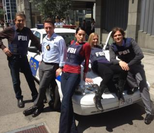 Criminal Minds: gallery con le foto di backstage