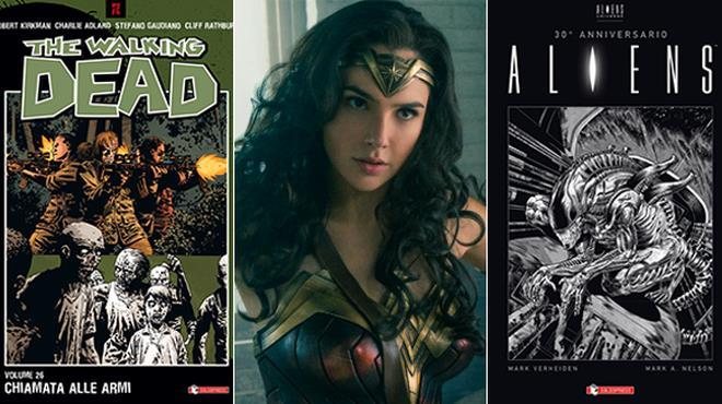 TWD, Wonder Woman e Aliens al COMICON