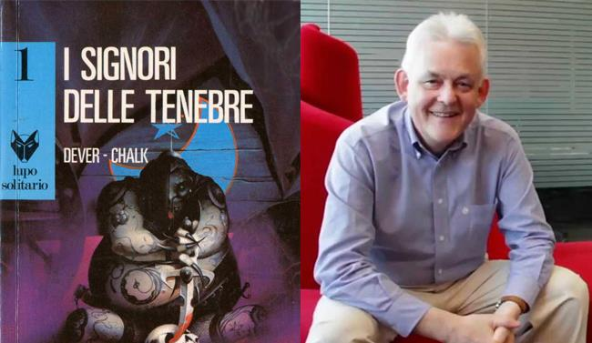 Joe Dever in una recente intervista per Atlantyca Entertainment