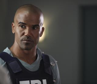 Shemar Moore nei panni di Derek Morgan in Criminal Minds