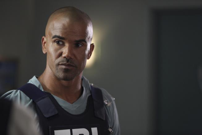 Shemar Moore nei panni di Derek Morgan in Criminal Minds