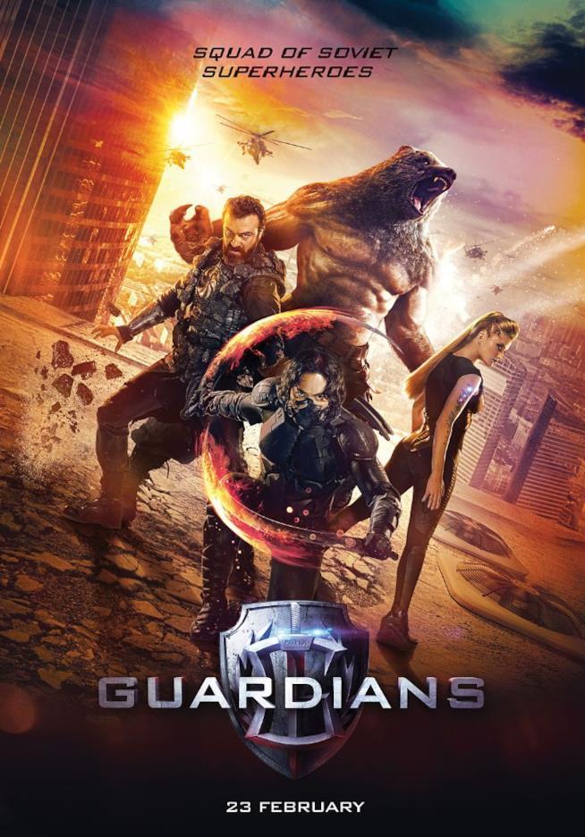 I protagonisti di Guardians, il film coi supereroi russi