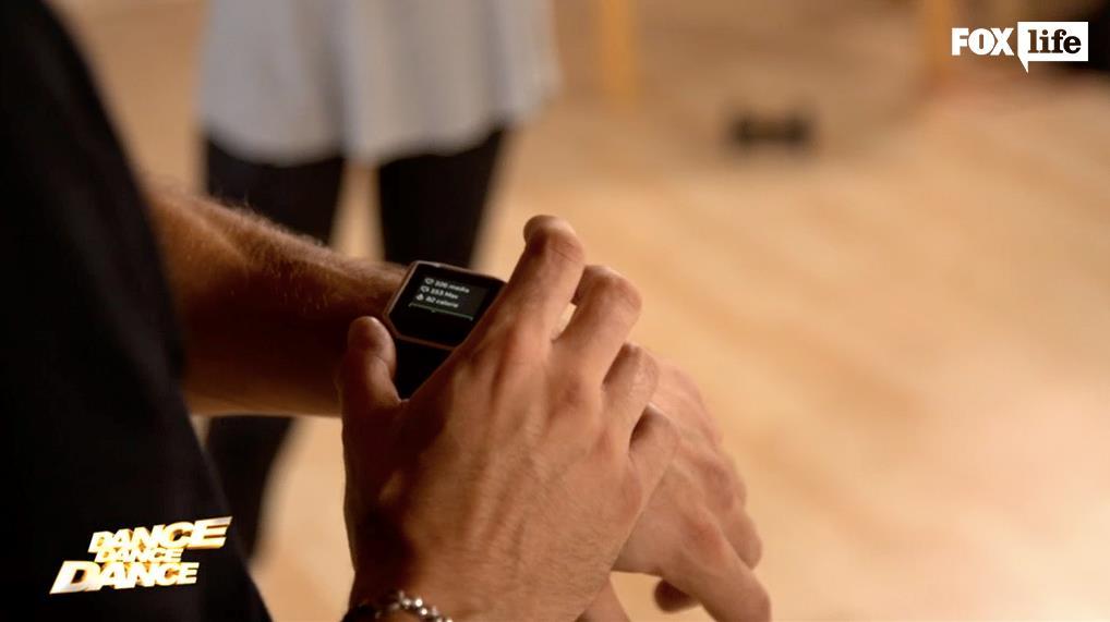 Alle prove di Dance Dance Dance con il Fitbit