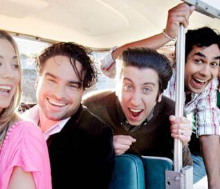 Il cast di The Big Bang Theory fotografato da Ken Hively