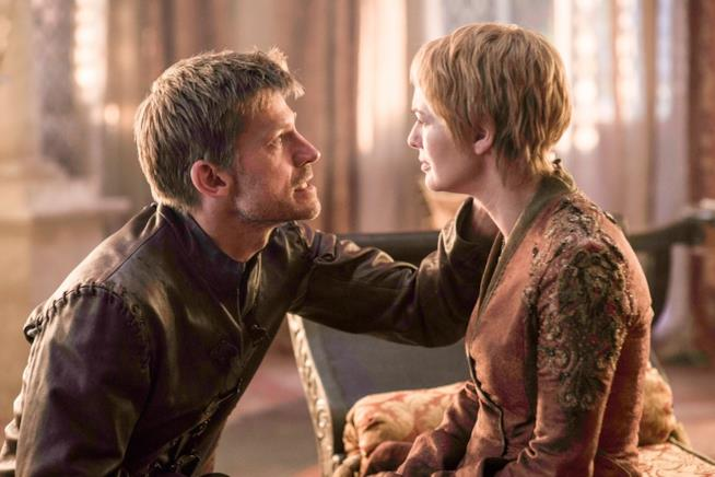 Jaime e Cersei in Game of Thrones 6