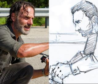 The Walking Dead: ecco lo storyboard dell'ultimo episodio
