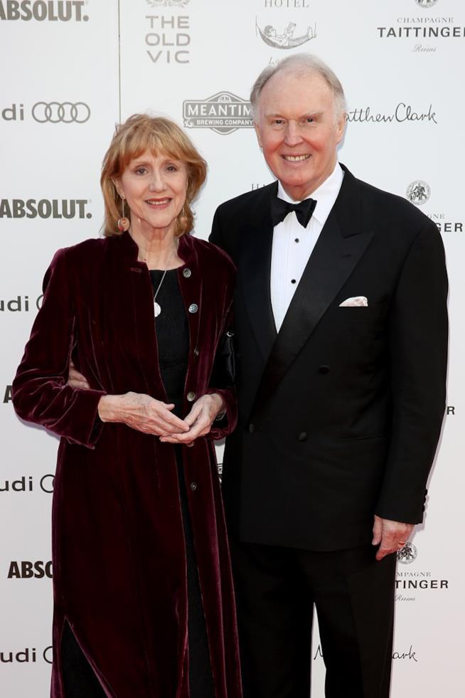 Tim Pigott-Smith con la moglie Pamela Miles