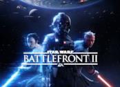 Darth Maul e Rey sul logo di Star Wars Battlefront 2