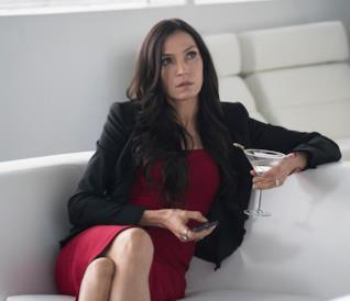 L'attrice Famke Janssen in The Blacklist: Redemption
